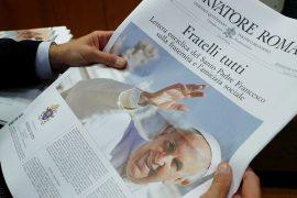 As principais citações da nova encíclica do Papa