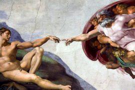 o homem é criado à imagem de Deus