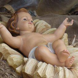 Menino Jesus no Presépio - Natal